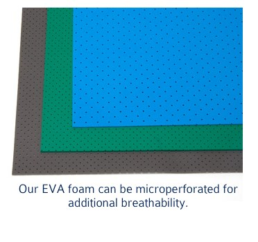 microperforated eva foam