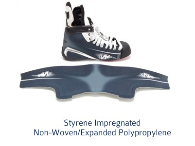 thermoformed foam skate